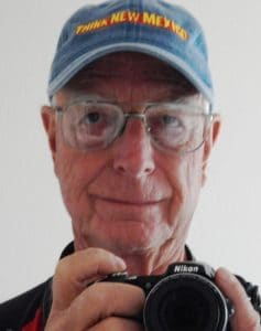 Ron Fenn, photographer for Sierra County Sun