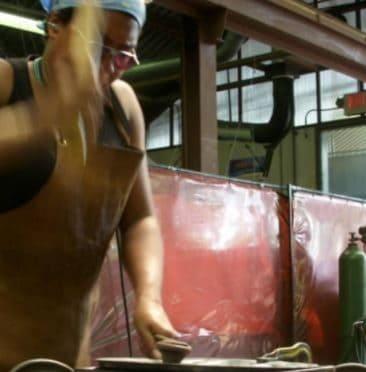 Precious Elements metalsmithing studio in Cuchillo