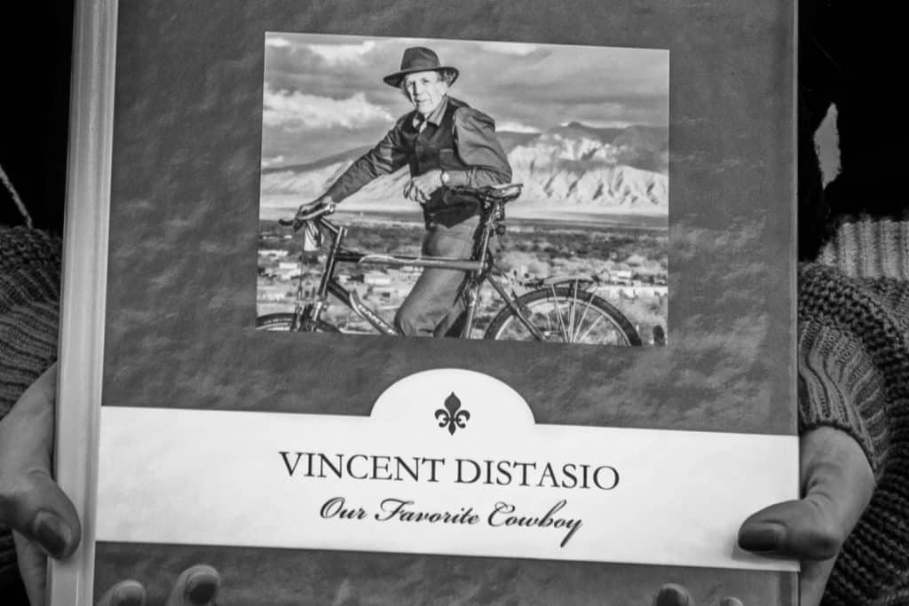 the late Vincent Distasio