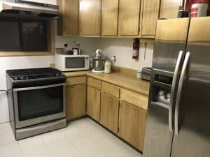 Amy's remodeled kitchen in Cucillo