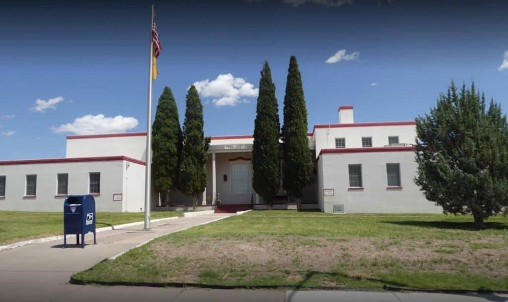 New Mexico 7th Judicial District Court Building in Truth or Consequences
