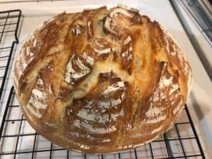 Amy's sourdough loaf