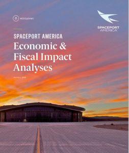 Cover of Spaceport's Economic Impact study
