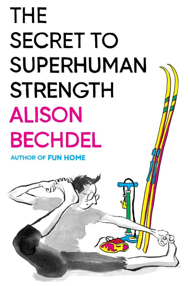 Cover to Alison Bechdel's new graphic memoir