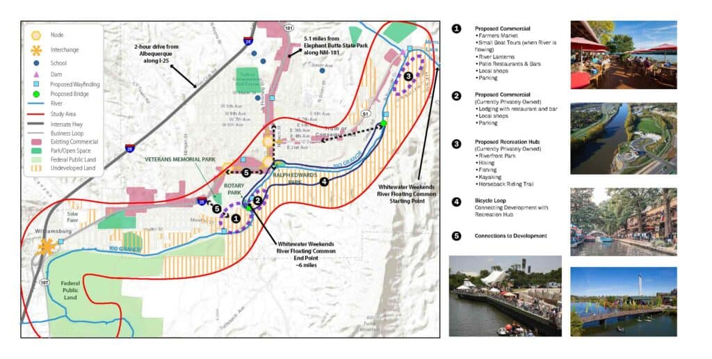 Wilson & Company's concept map for Riverwalk