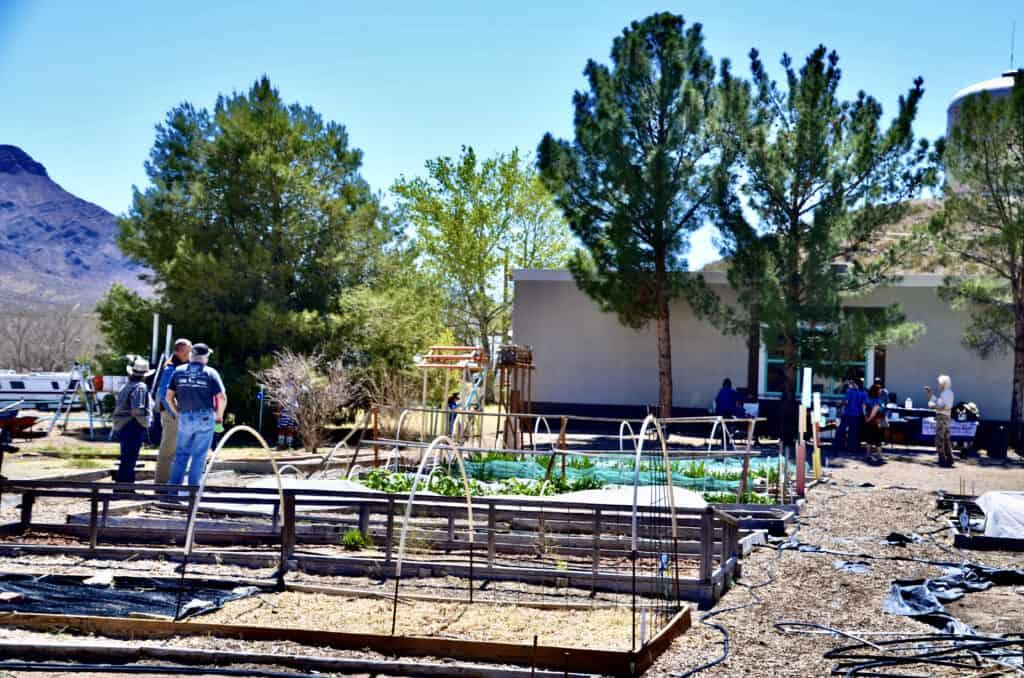 T pr C community garden