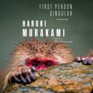 Murakami's First Person Singular book cover